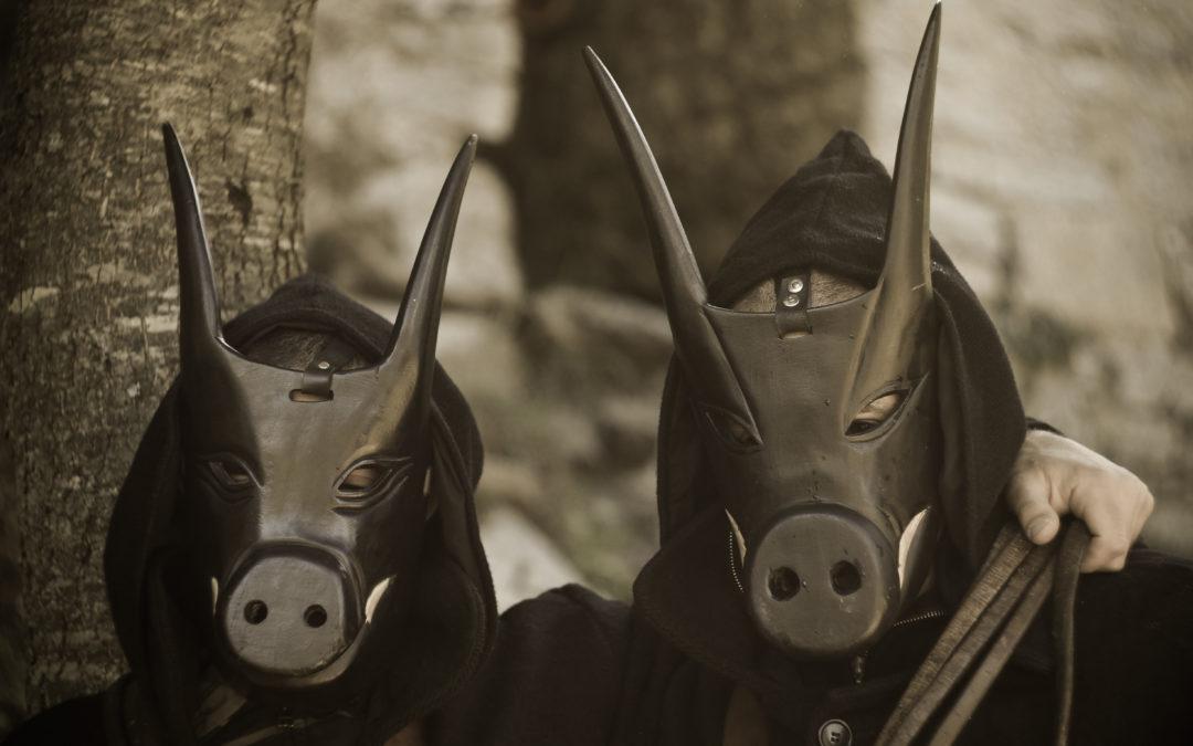 Il porco, simbolo e strumento della rinascita delle messi. La maschera de Su Murronarzu